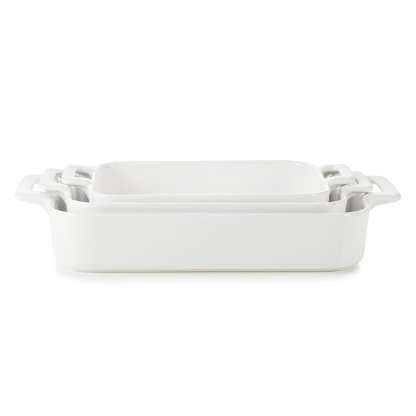 Belle Cuisine Rectangular Roasting Dish Set by Revol