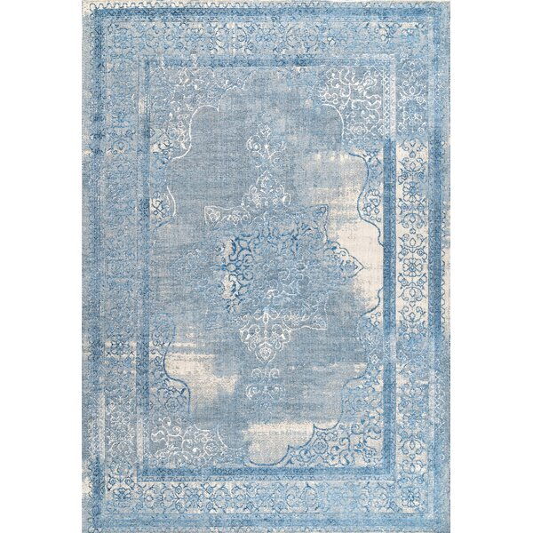 Johnstone Blue Area Rug by Ophelia & Co.