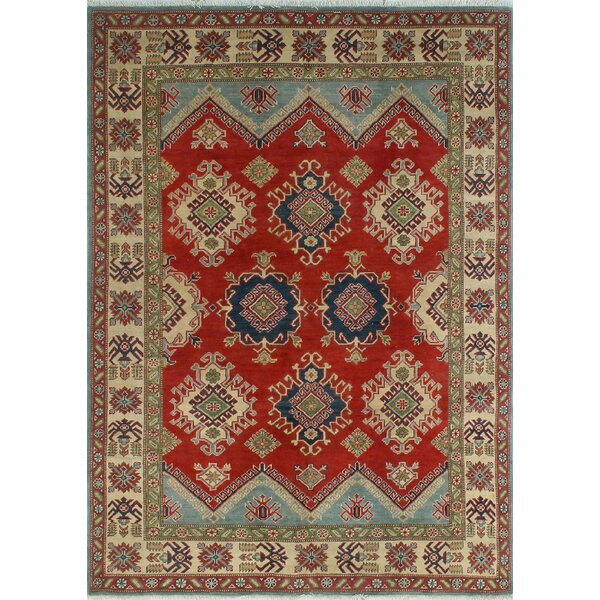 One-of-a-Kind Wendland Dylan Hand-Knotted Red Area Rug by Loon Peak