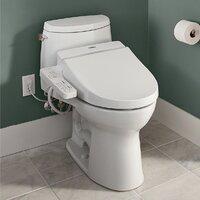 Deals on Washlet A100 Elongated Toilet Seat Bidet SW2014#01