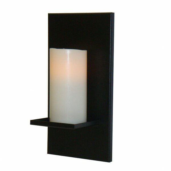 Single Candle Steel Sconce by Marco Lighting Components, Inc.