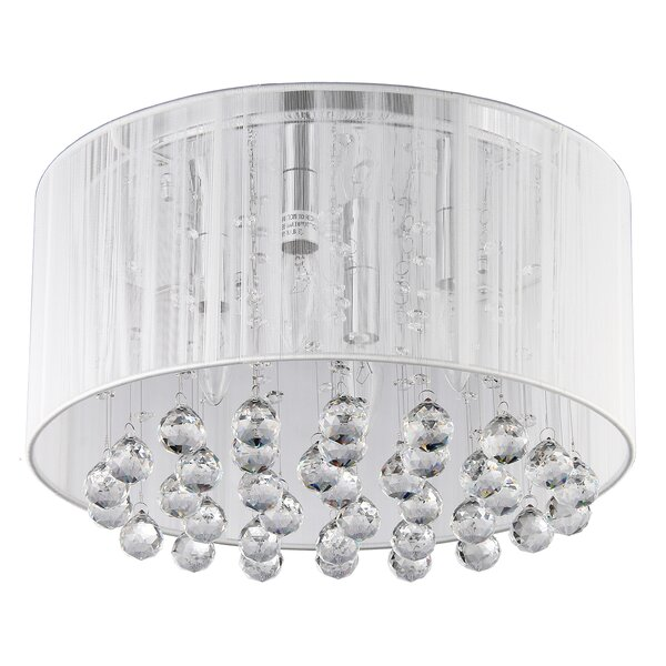 Afaura 4-Light Flush Mount by PPM Imports