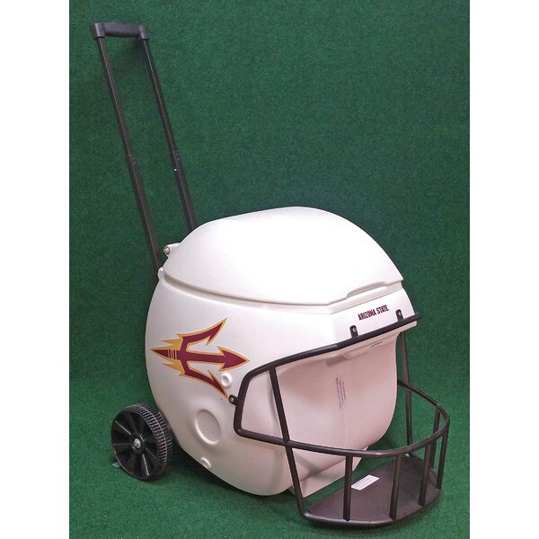 40 Qt. Arizona State Sun Devils Football Helmet Rolling Cooler by Coolr Coolrz