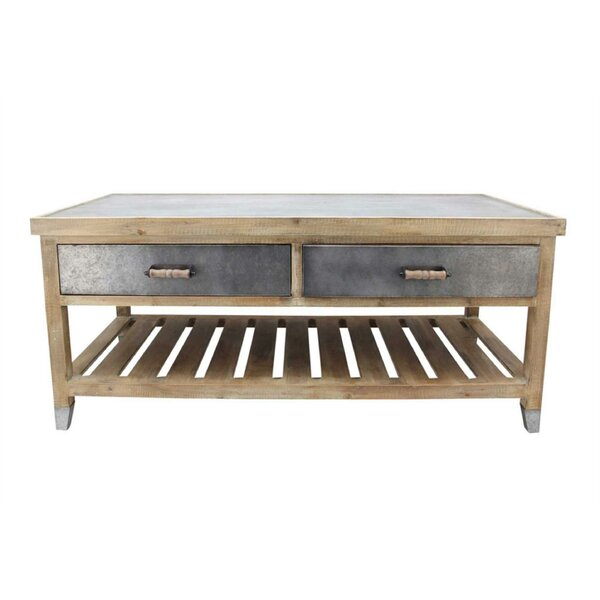 Atlanta Wooden Coffee Table by Gracie Oaks