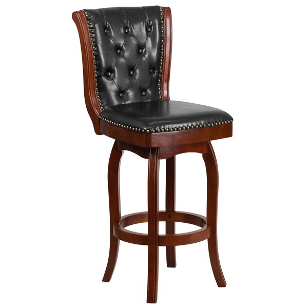 Achilles 30'' Swivel Bar Stool by Darby Home Co
