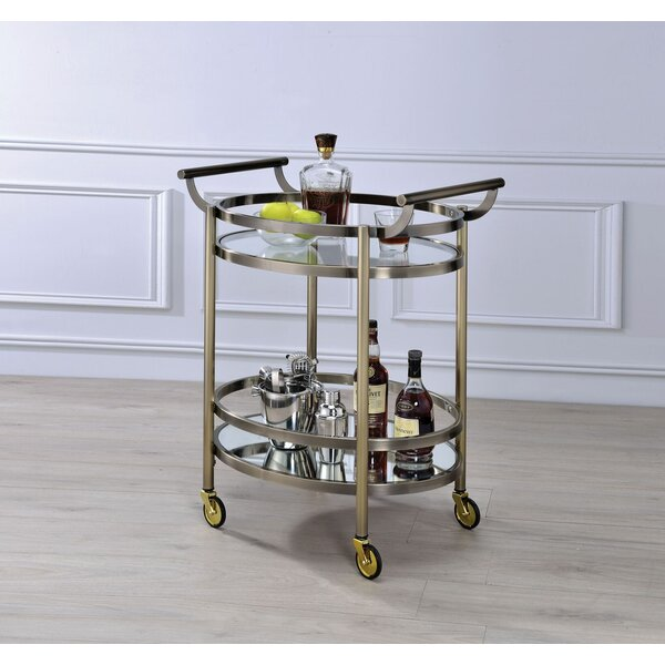 Piedmont Bar Cart by Rosdorf Park