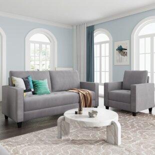 Kemontay 2 Piece Living Room Set by Latitude Run®