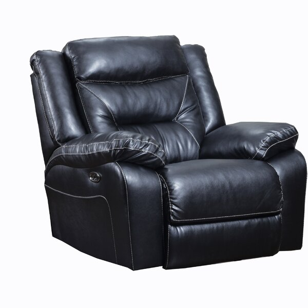 Chadbourne Simmons Manual Rocker Recliner by Andover Mills