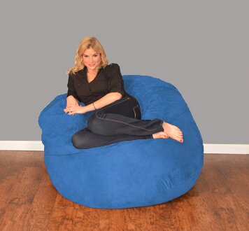 Breton Bean Bag Lounger by Bay Isle Home