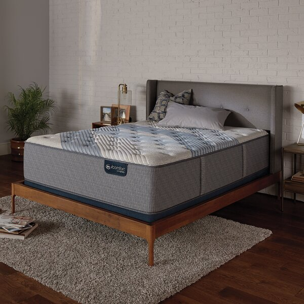 iComfort 1000 14 Medium Hybrid Mattress and Box Spring by Serta