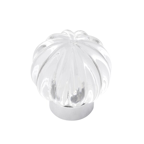 Luster Glass Crystal Knob by Belwith Keeler