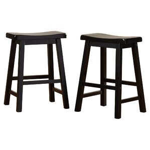 Whitworth 24  Bar Stool (Set ...  sc 1 st  Wayfair & Solid Wood Bar Stools Youu0027ll Love | Wayfair islam-shia.org