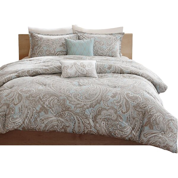 Cedarvale 5 Piece Comforter Set by Three Posts