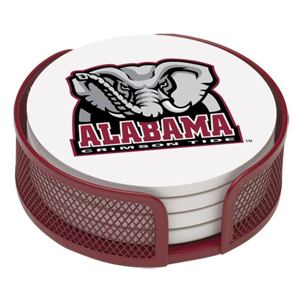 5 Piece University of Alabama Collegiate Coaster Gift Set by Thirstystone
