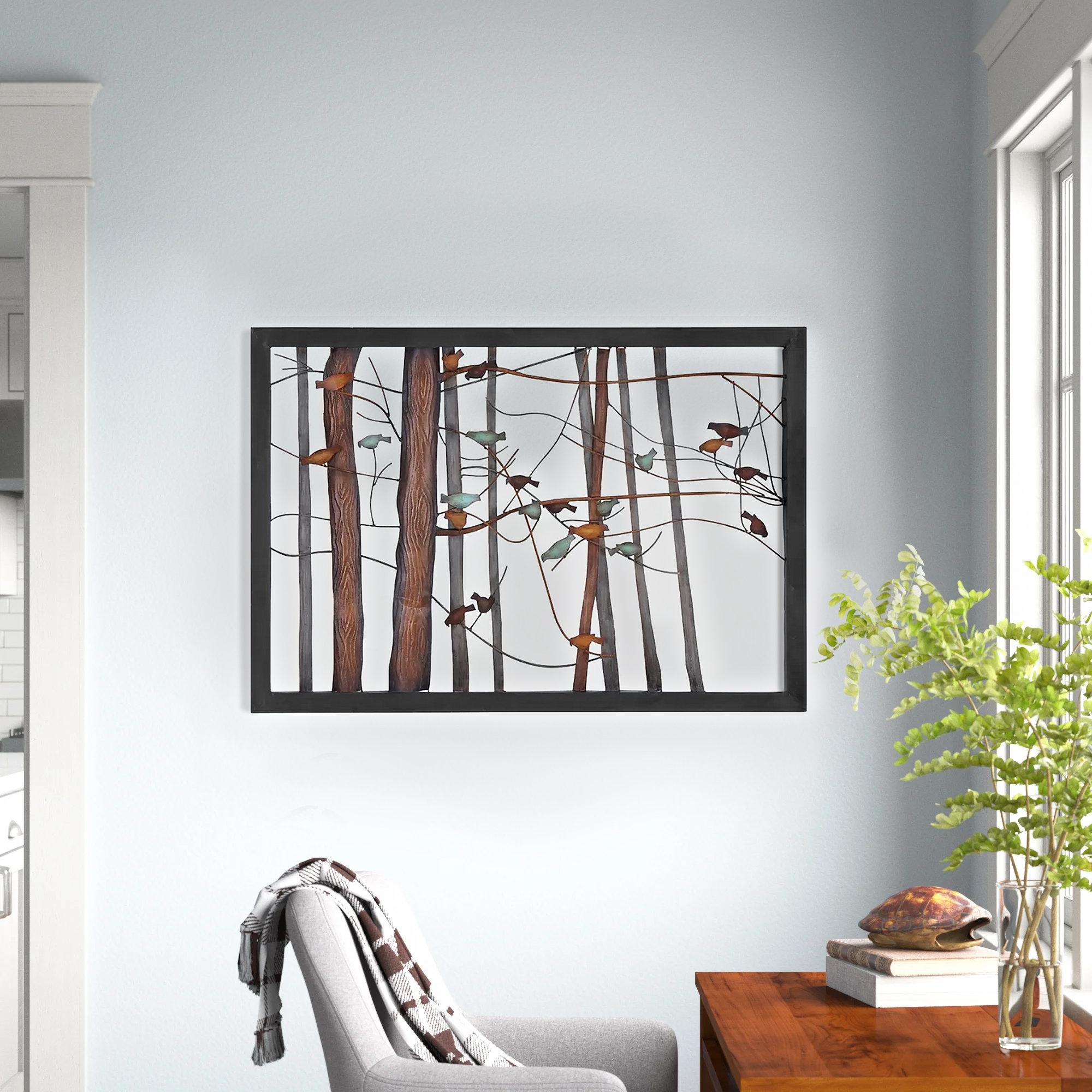 Metal Tree Wall Art Wayfair