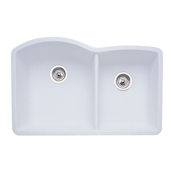Diamond 32 L x 19 W Bowl Undermount Kitchen Sink by Blanco