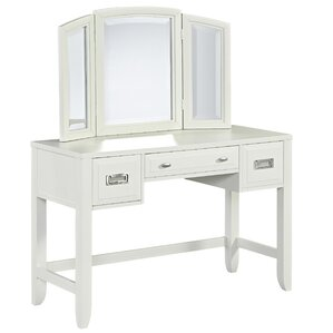 Darrow Vanity with Mirror by Mercury Row