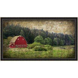 Widby's Barn I Framed Photographic Print by Ashton Wall Décor LLC