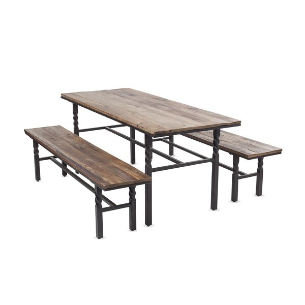 Deep Creek 3 Piece Dining Set by Plow & Hearth