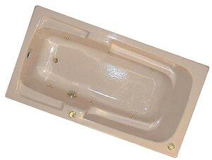60 x 30 Arm-Rest Whirlpool Tub by American Acrylic