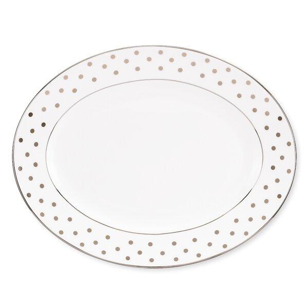Larabee Road 13 Oval Platter by kate spade new york