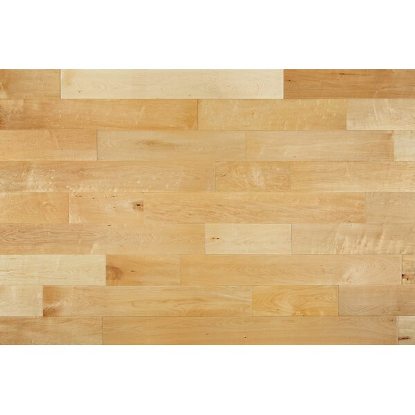 Meraz 5 Engineered Maple Hardwood Flooring in Natural by August Grove