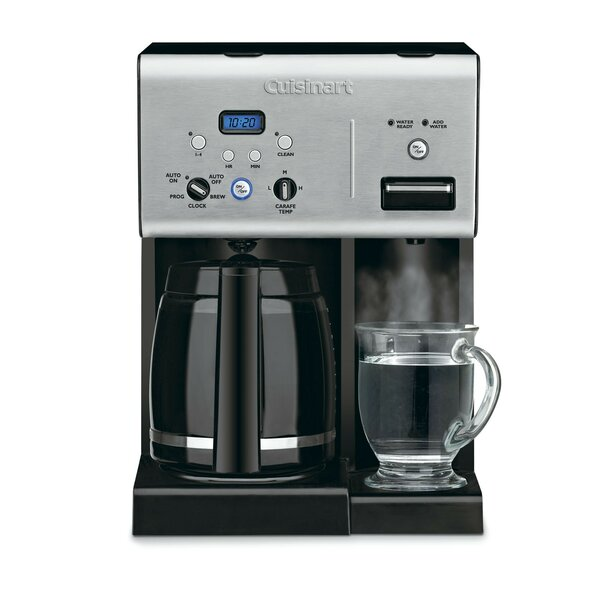 Programmable 12-Cup Coffee Maker with Hot Water Sy
