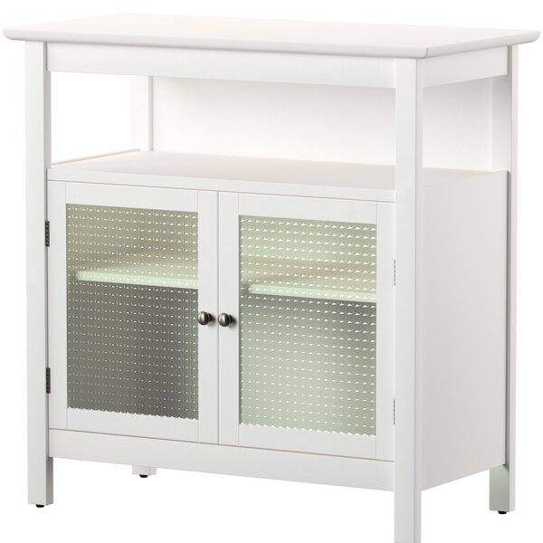 Cendrillon Wood Storage 2 Door Accent Cabinet By Zipcode Design