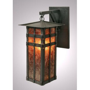Shop For San Carlos 1-Light Outdoor Wall Lantern By Steel Partners