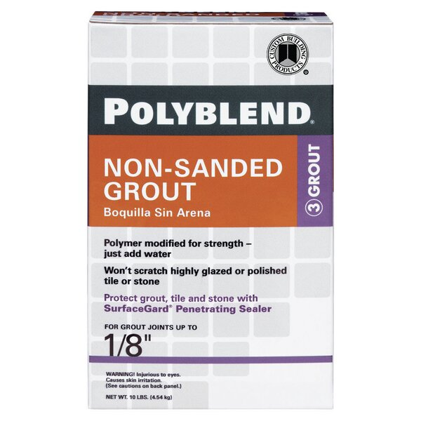 Polylend Non-Sanded Tile Grout by Custom Building Products