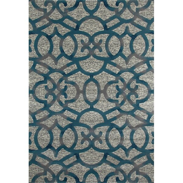 Delanie Gray Area Rug by Mercer41
