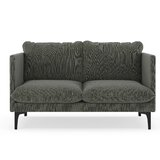 Scheller Twilled Weave Loveseat by Orren Ellis