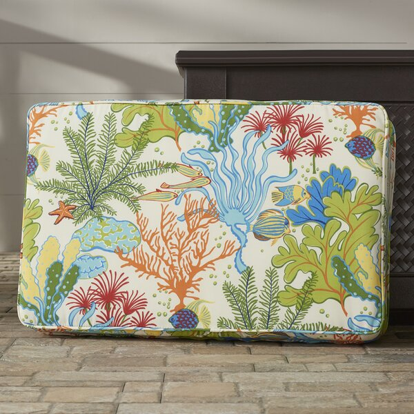 Evadne Corded Indoor/Outdoor Floor Cushion by Bayou Breeze