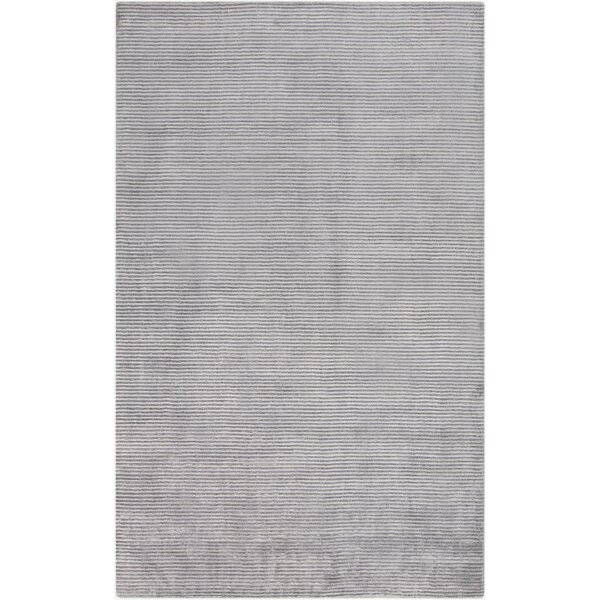 Tiffany Gray Solid Area Rug by Tepper Jackson