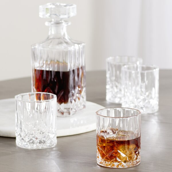 Lenoir 5 Piece Decanter Set By Mint Pantry.