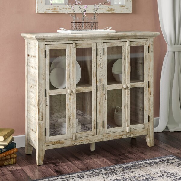 4 Door Accent Cabinet By Feminine French Country