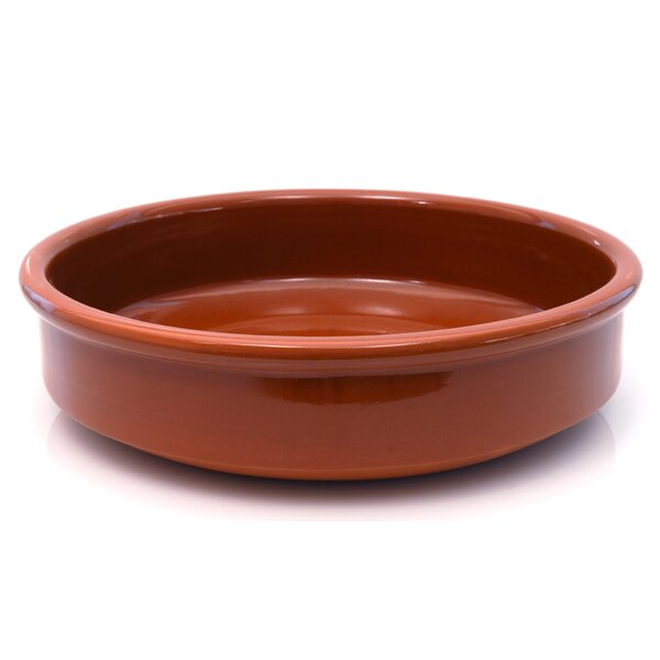 3 Qt. Round Casserole by Graupera Pottery Artisans