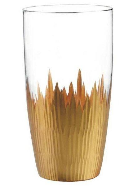 Lava 17 oz. Highball Glass (Set of 4) by Qualia Glass