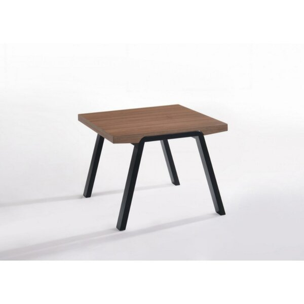 Pollitt Wooden Table Top End Table by Williston Forge