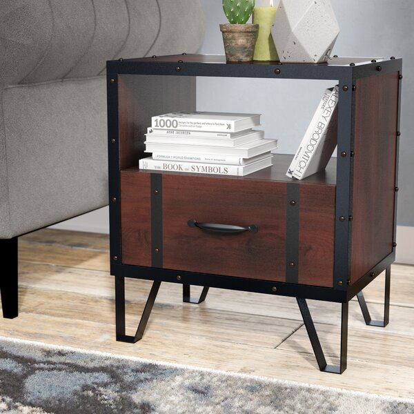 Sidney End Table by Williston Forge Williston Forge