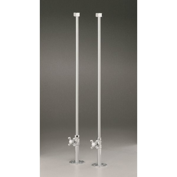 Water Supply Lines for Rim Mount Tub Filler by Cheviot Products