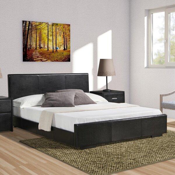 Hindes Upholstered Platform Bed by Ebern Designs
