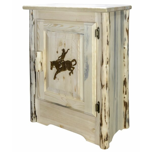 Shotwell 1 Door Accent Cabinet by Millwood Pines Millwood Pines