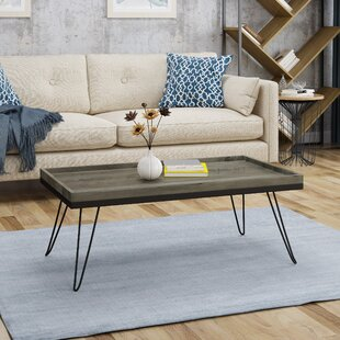 Great deal Brackman Coffee Table By Union Rustic