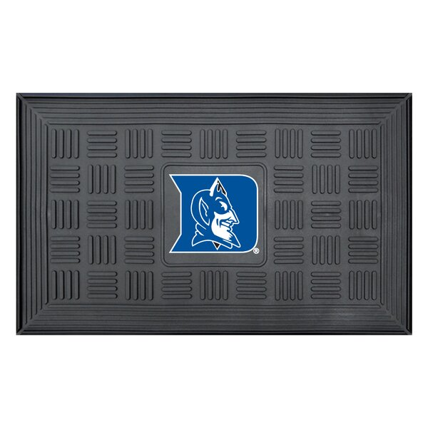 NCAA Duke University Medallion Door Mat by FANMATS