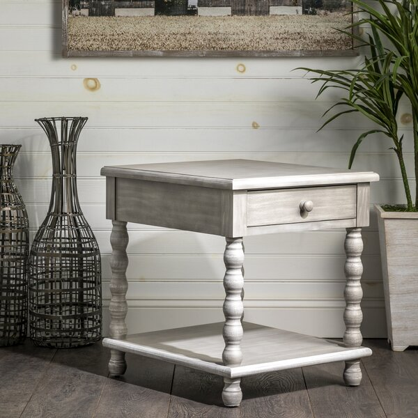 Zeledon End Table with Storage by Highland Dunes Highland Dunes