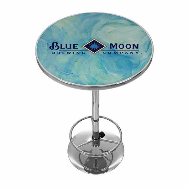 Blue Moon Pub Table by Trademark Global