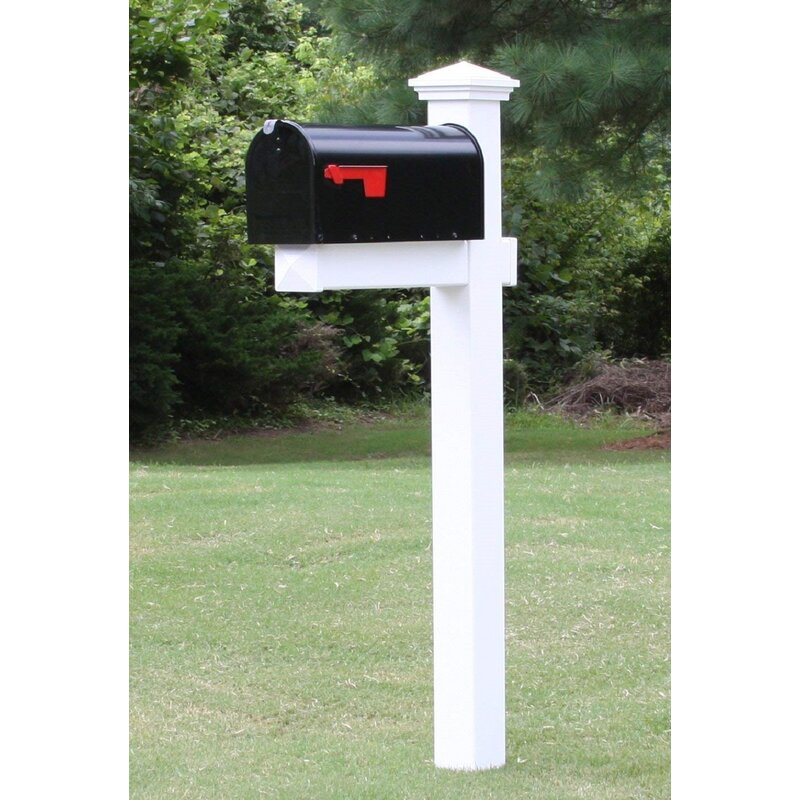 The Vacation Mailbox with Post