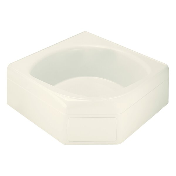 Ensemble 60 Corner Soaking Bathtub by Sterling by
