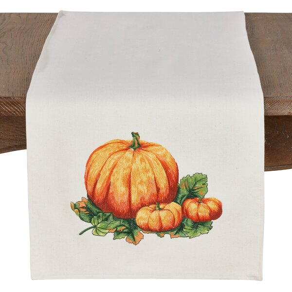 Rouse Decorative Pumpkin Table Runner by August Grove